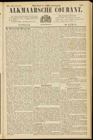 Alkmaarsche Courant 1903-04-26