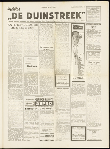 De Duinstreek 1961-10-20