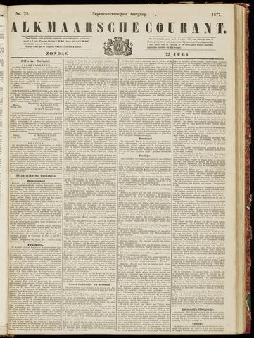 Alkmaarsche Courant 1877-07-22