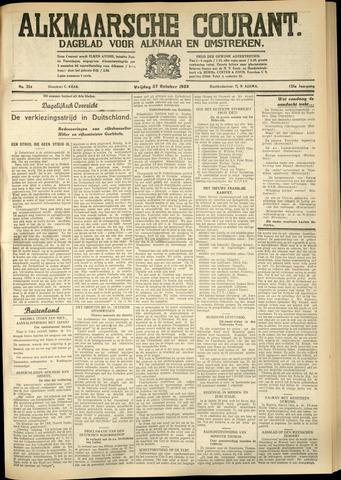 Alkmaarsche Courant 1933-10-27