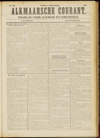 Alkmaarsche Courant 1909-08-28