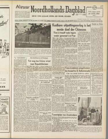 Nieuw Noordhollandsch Dagblad : voor Alkmaar en omgeving 1950-11-08