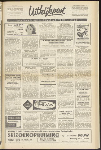 Uitkijkpost : nieuwsblad voor Heiloo e.o. 1964-07-16