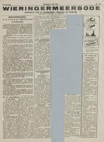 Wieringermeerbode 1943-07-07