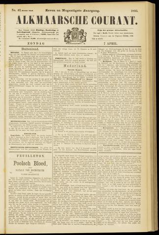 Alkmaarsche Courant 1895-04-07