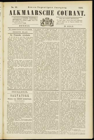Alkmaarsche Courant 1889-07-28