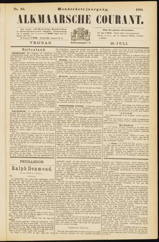 Alkmaarsche Courant 1898-07-22