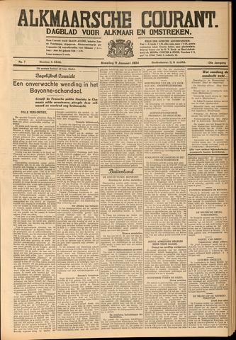 Alkmaarsche Courant 1934-01-09