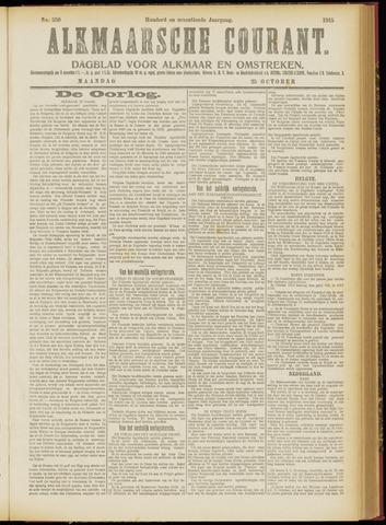 Alkmaarsche Courant 1915-10-25