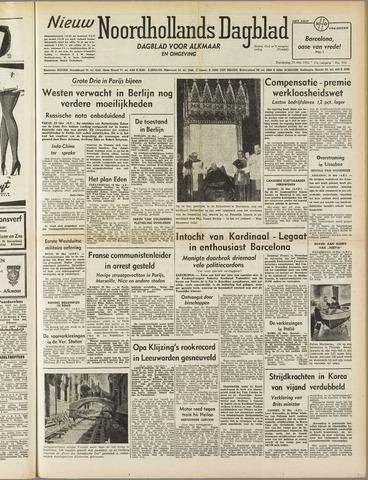 Nieuw Noordhollandsch Dagblad : voor Alkmaar en omgeving 1952-05-29