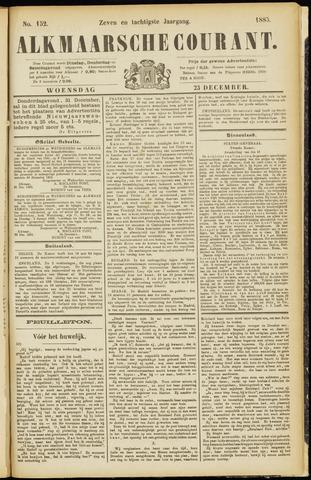 Alkmaarsche Courant 1885-12-23