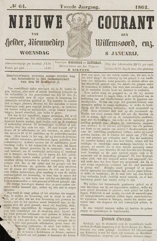 Nieuwe Courant van Den Helder 1862-01-08
