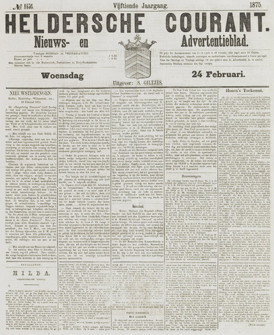 Heldersche Courant 1875-02-24