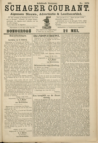 Schager Courant 1874-05-21