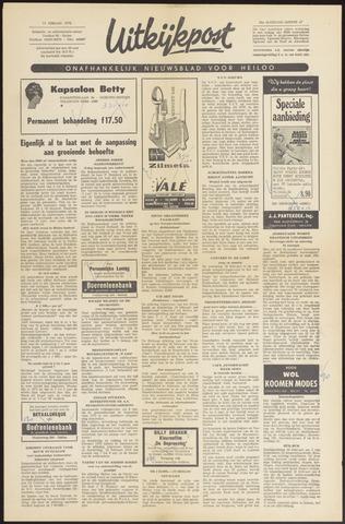 Uitkijkpost : nieuwsblad voor Heiloo e.o. 1970-02-11