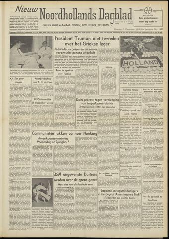 Nieuw Noordhollandsch Dagblad : voor Alkmaar en omgeving 1948-12-07