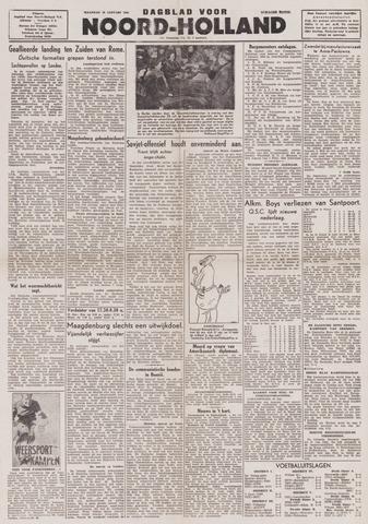 Dagblad Noord-Holland, Schager editie 1944-01-24