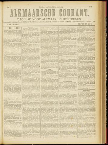Alkmaarsche Courant 1918-02-13