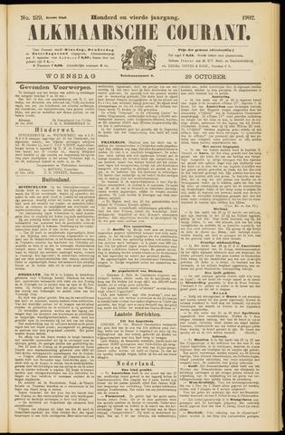 Alkmaarsche Courant 1902-10-29