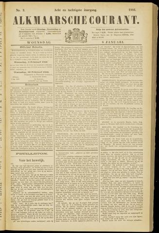 Alkmaarsche Courant 1886-01-06