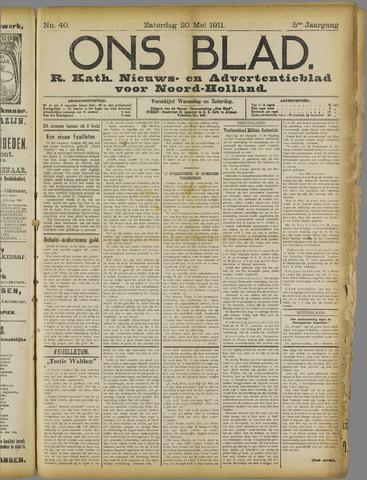 Ons Blad : katholiek nieuwsblad voor N-H 1911-05-20