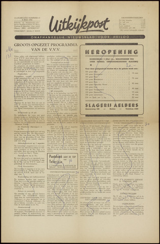Uitkijkpost : nieuwsblad voor Heiloo e.o. 1956-07-06