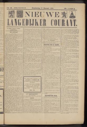 Nieuwe Langedijker Courant 1924-01-31