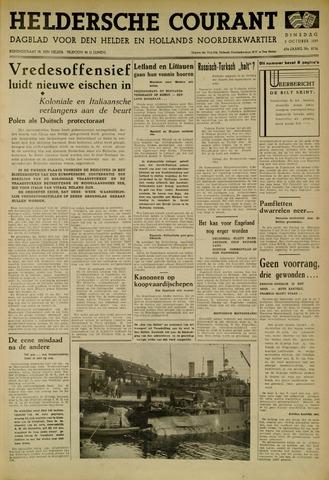 Heldersche Courant 1939-10-03