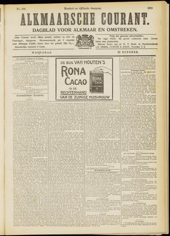 Alkmaarsche Courant 1913-10-22