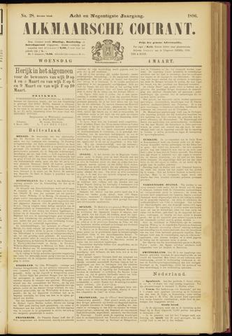 Alkmaarsche Courant 1896-03-04