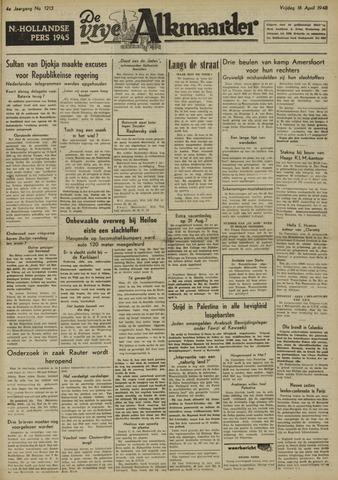 De Vrije Alkmaarder 1948-04-16
