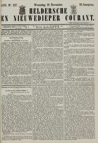 Heldersche en Nieuwedieper Courant 1870-11-16