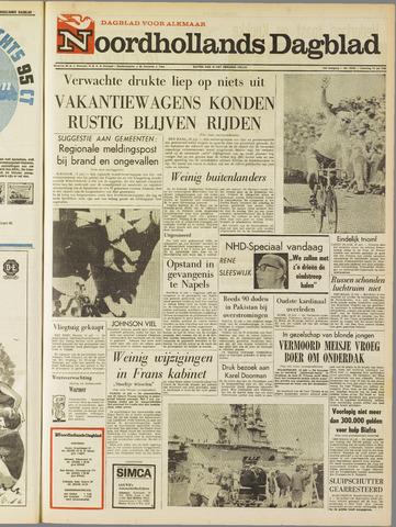 Noordhollands Dagblad : dagblad voor Alkmaar en omgeving 1968-07-13