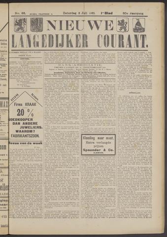 Nieuwe Langedijker Courant 1921-07-02
