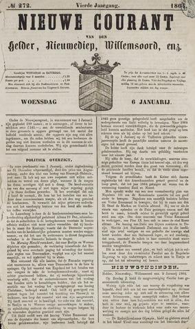 Nieuwe Courant van Den Helder 1864-01-06