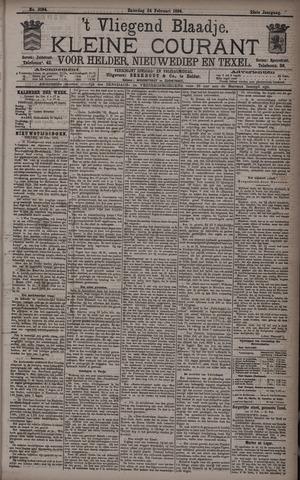 Vliegend blaadje : nieuws- en advertentiebode voor Den Helder 1894-02-24