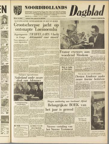 Noordhollands Dagblad : dagblad voor Alkmaar en omgeving 1961-02-11