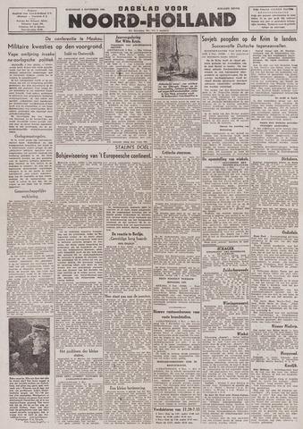 Dagblad Noord-Holland, Schager editie 1943-11-03