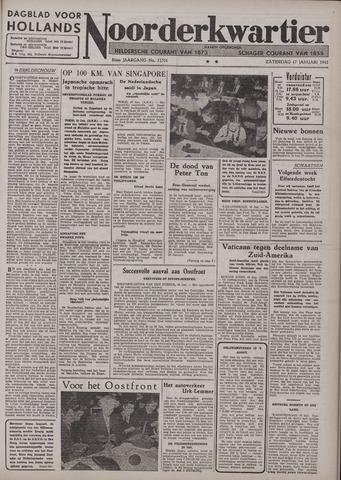 Dagblad voor Hollands Noorderkwartier 1942-01-17