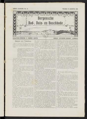 Bergensche bad-, duin- en boschbode 1910-08-19