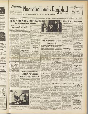 Nieuw Noordhollandsch Dagblad : voor Alkmaar en omgeving 1950-02-06