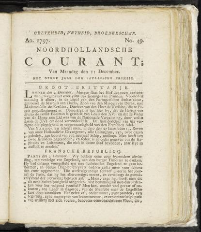 Noordhollandsche Courant 1797-12-11