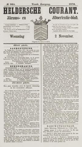 Heldersche Courant 1870-11-02