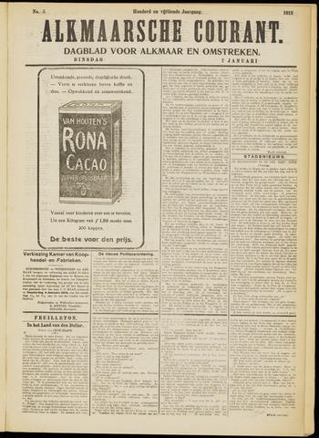 Alkmaarsche Courant 1913-01-07