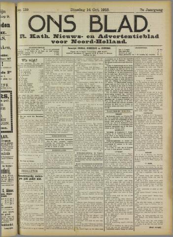 Ons Blad : katholiek nieuwsblad voor N-H 1913-10-14
