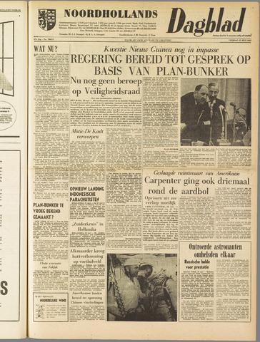 Noordhollands Dagblad : dagblad voor Alkmaar en omgeving 1962-05-25