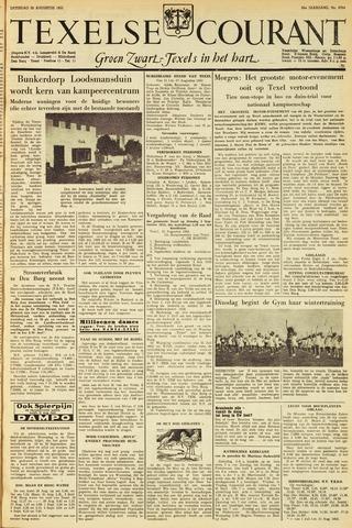 Texelsche Courant 1953-08-29
