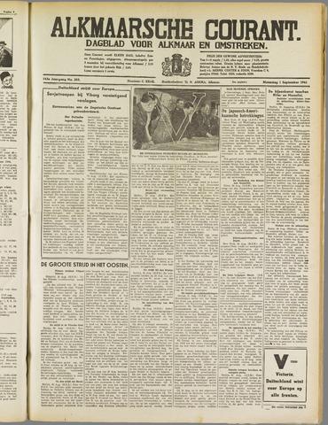 Alkmaarsche Courant 1941-09-01