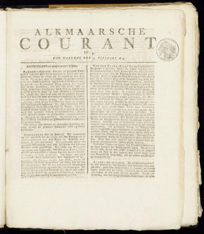 Alkmaarsche Courant 1814-02-14