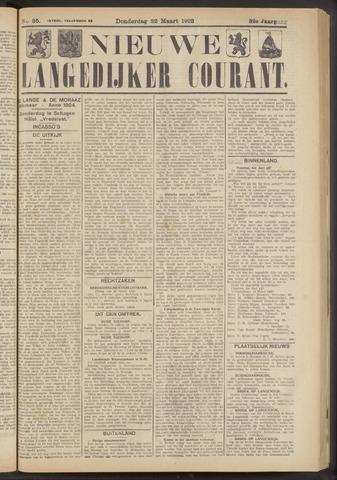 Nieuwe Langedijker Courant 1923-03-22